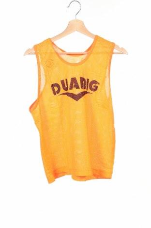 Μπλουζάκι αμάνικο παιδικό Duarig, Μέγεθος 15-18y/ 170-176 εκ., Χρώμα Πορτοκαλί, Πολυεστέρας, Τιμή 2,95€