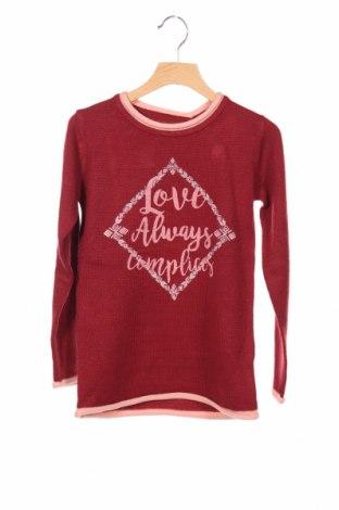 Детски пуловер Complices, Размер 7-8y/ 128-134 см, Цвят Червен, 100% акрил, Цена 24,36лв.