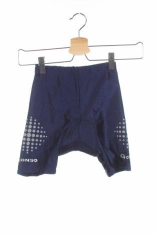 Детски спортен клин Gonso, Размер 8-9y/ 134-140 см, Цвят Син, 80% полиестер, 20% еластан, Цена 8,00лв.