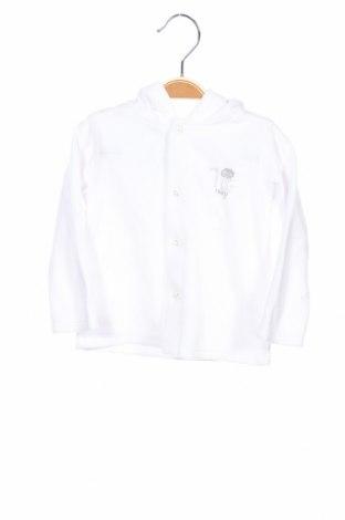 Детски суичър La Compagnie des Petits, Размер 12-18m/ 80-86 см, Цвят Бял, 70% памук, 30% полиестер, Цена 11,00лв.