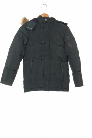 Детско дънково яке Oviesse, Размер 9-10y/ 140-146 см, Цвят Зелен, Полиестер, Цена 60,48лв.