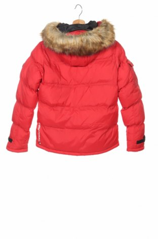 Детско яке Canadian Peak 1953, Размер 14-15y/ 168-170 см, Цвят Червен, Полиестер, Цена 89,40лв.