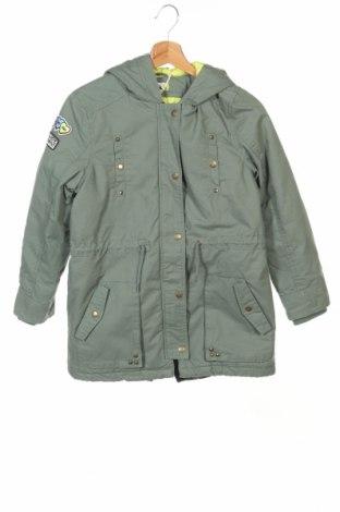 Детско яке Pepe Jeans, Размер 10-11y/ 146-152 см, Цвят Зелен, 89% памук, 10% полиестер, 1% еластан, Цена 139,92лв.
