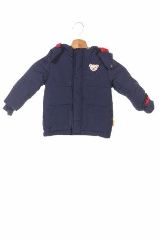Детско яке Steiff, Размер 12-18m/ 80-86 см, Цвят Син, Полиестер, Цена 94,08лв.