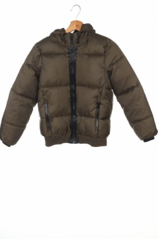 Детско яке Zara, Размер 8-9y/ 134-140 см, Цвят Зелен, 100% полиестер, Цена 49,56лв.