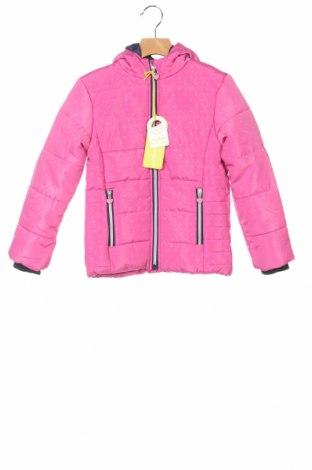 Детско яке за зимни спортове Lemon Beret, Размер 5-6y/ 116-122 см, Цвят Розов, Полиестер, Цена 54,00лв.