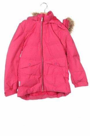 Детско яке за зимни спортове Reima, Размер 9-10y/ 140-146 см, Цвят Розов, 72% полиамид, 28% полиестер, Цена 63,36лв.