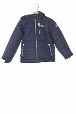 Детско яке за зимни спортове Trollkids, Размер 3-4y/ 104-110 см, Цвят Син, Полиестер, Цена 68,88лв.