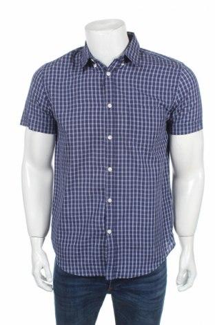 Мъжка риза, Размер M, Цвят Син, Цена 8,93лв.
