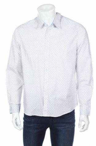Мъжка риза Balsamik, Размер L, Цвят Син, Памук, Цена 22,00лв.