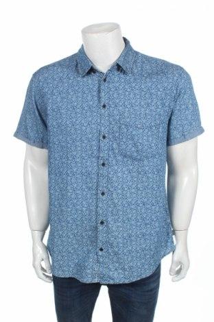 Мъжка риза Blend, Размер XL, Цвят Син, Памук, Цена 15,75лв.