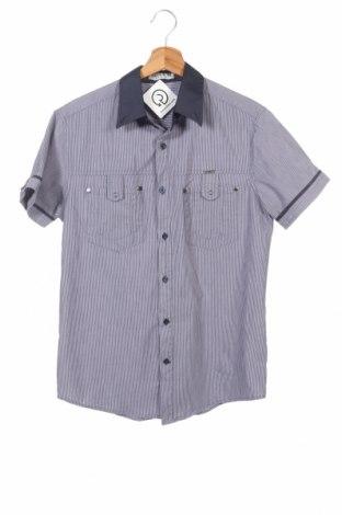 Мъжка риза Dress & Go, Размер S, Цвят Син, 68% памук, 29% полиамид, 3% еластан, Цена 11,34лв.
