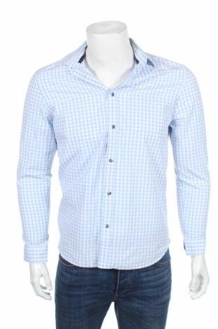 Мъжка риза Esprit, Размер M, Цвят Син, Памук, Цена 10,40лв.