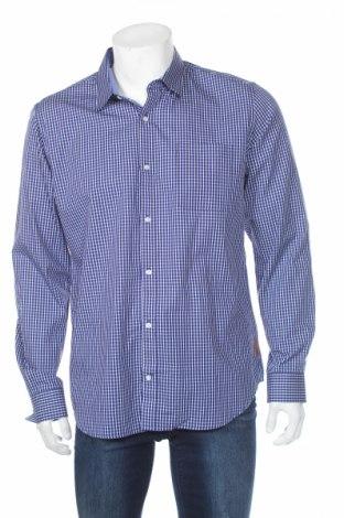 Ανδρικό πουκάμισο Maddison, Μέγεθος L, Χρώμα Μπλέ, Βαμβάκι, Τιμή 6,46€