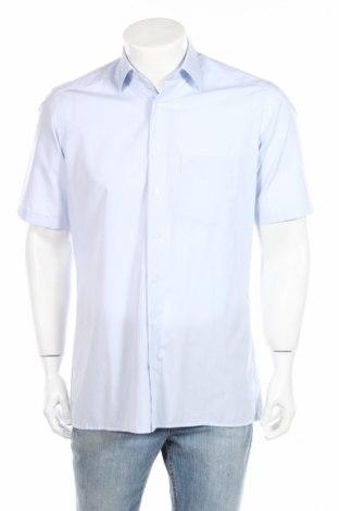 Мъжка риза Olymp, Размер M, Цвят Син, Памук, Цена 10,71лв.