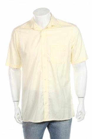 Мъжка риза Olymp, Размер M, Цвят Жълт, Памук, Цена 10,71лв.