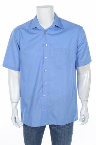 Мъжка риза Royal Class, Размер M, Цвят Син, Памук, Цена 11,34лв.