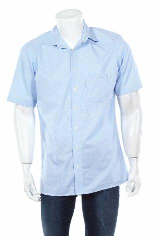 Мъжка риза Royal Class, Размер M, Цвят Син, Памук, Цена 4,73лв.