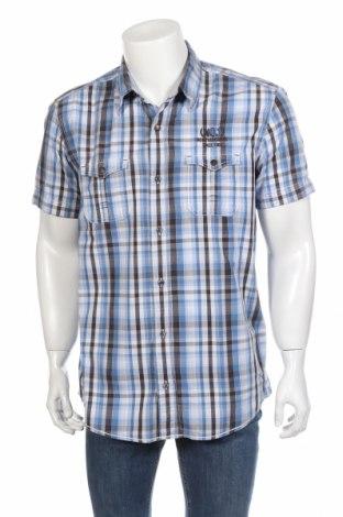 Мъжка риза S.Oliver, Размер XL, Цвят Многоцветен, Памук, Цена 10,08лв.