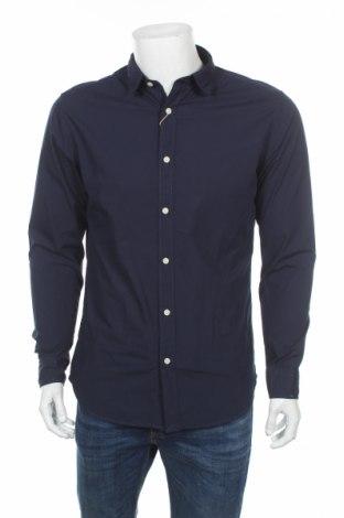 Ανδρικό πουκάμισο Selected Homme, Μέγεθος L, Χρώμα Μπλέ, 100% βαμβάκι, Τιμή 10,64€