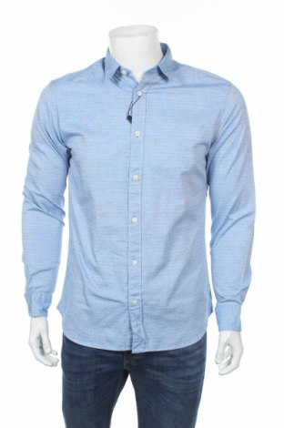 Pánská košile  Selected Homme, Rozměr M, Barva Modrá, 99% bavlna, 1% elastan, Cena  315,00Kč