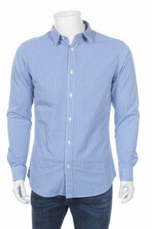 Męska koszula Selected Homme, Rozmiar M, Kolor Niebieski, 100% bawełna, Cena 44,25zł