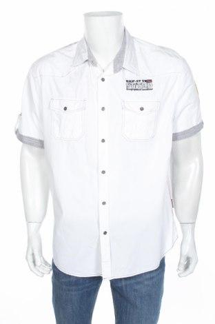 Мъжка риза Southern Territory, Размер XL, Цвят Бял, Памук, Цена 15,17лв.