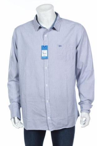 Мъжка риза Tbs, Размер XXL, Цвят Син, Памук, Цена 36,57лв.