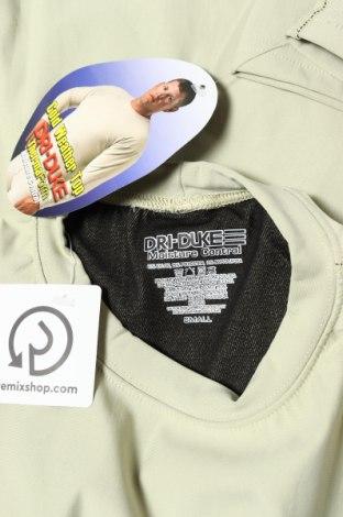 Мъжка спортна блуза, Размер S, Цвят Зелен, 63% полиамид, 25% полиестер, 12% еластан, Цена 24,00лв.