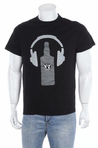 Мъжка тениска, Размер L, Цвят Черен, Памук, Цена 13,65лв.