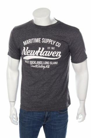 Мъжка тениска Accanto, Размер M, Цвят Сив, 60% памук, 40% полиестер, Цена 10,92лв.