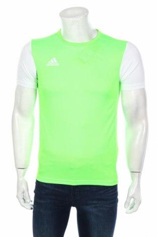 Мъжка тениска Adidas, Размер XS, Цвят Зелен, Полиестер, Цена 16,25лв.