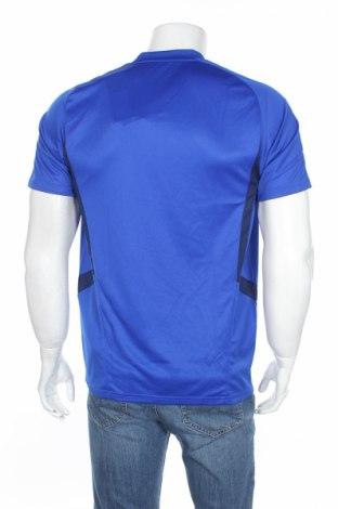 Мъжка тениска Adidas, Размер M, Цвят Син, Полиестер, Цена 11,80лв.