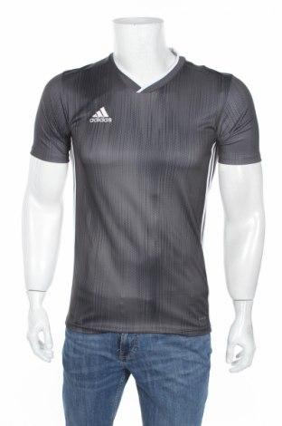 Pánske tričko  Adidas, Veľkosť XS, Farba Sivá, Polyester, Cena  10,64€