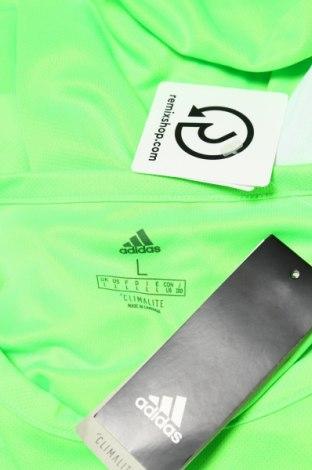 Мъжка тениска Adidas, Размер L, Цвят Зелен, Полиестер, Цена 13,00лв.