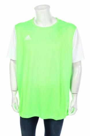 Мъжка тениска Adidas, Размер XXL, Цвят Зелен, Полиестер, Цена 13,00лв.
