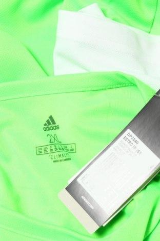 Мъжка тениска Adidas, Размер XXL, Цвят Зелен, Полиестер, Цена 16,25лв.