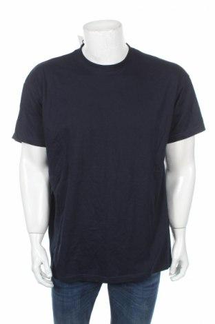Мъжка тениска B&C Collection, Размер XL, Цвят Син, 100% памук, Цена 11,76лв.
