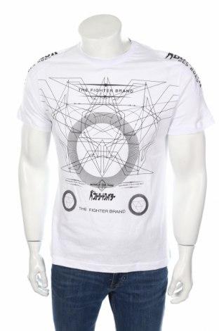 Мъжка тениска Boxeur Des Rues, Размер M, Цвят Бял, 100% памук, Цена 16,80лв.