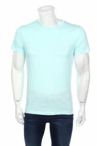Мъжка тениска H&M Divided, Размер S, Цвят Зелен, Памук, Цена 9,24лв.