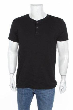 Tricou de bărbați H&M L.o.g.g, Mărime L, Culoare Negru, 100% bumbac, Preț 33,82 Lei