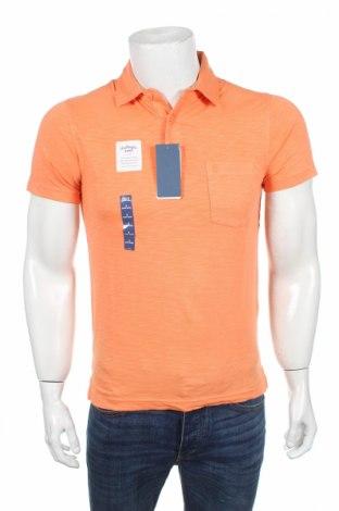 Мъжка тениска Izod, Размер L, Цвят Оранжев, Памук, Цена 13,76лв.