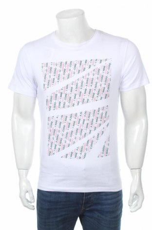 Męski T-shirt Jack & Jones, Rozmiar S, Kolor Biały, Bawełna, Cena 43,81zł