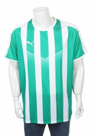 Мъжка тениска PUMA, Размер XXL, Цвят Зелен, Полиестер, Цена 14,75лв.