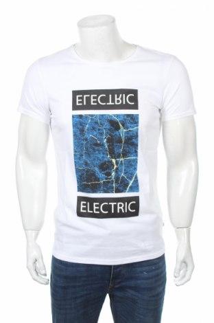 Мъжка тениска Q/S by S.Oliver, Размер M, Цвят Бял, Памук, Цена 16,80лв.