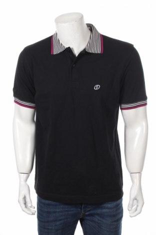 Мъжка тениска Spalding, Размер L, Цвят Черен, Памук, Цена 13,65лв.