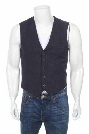 Pánská vesta  Burton of London, Rozměr S, Barva Modrá, 77% polyester, 23% viskóza, Cena  297,00Kč