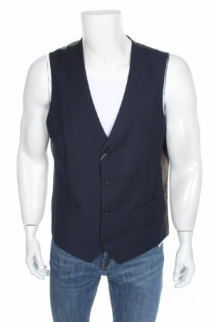 Pánská vesta  Esprit, Rozměr XL, Barva Modrá, 70% polyester, 30% viskóza, Cena  263,00Kč