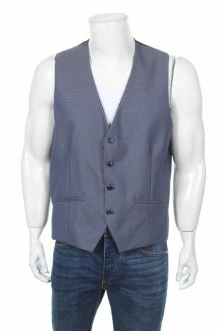 Pánská vesta  Selected Homme, Rozměr XL, Barva Modrá, 76% polyester, 22% viskóza, 2% elastan, Cena  258,00Kč