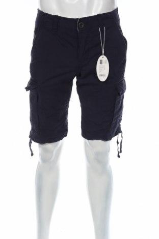 Pantaloni scurți de bărbați Edc By Esprit, Mărime S, Culoare Albastru, Bumbac, Preț 54,34 Lei